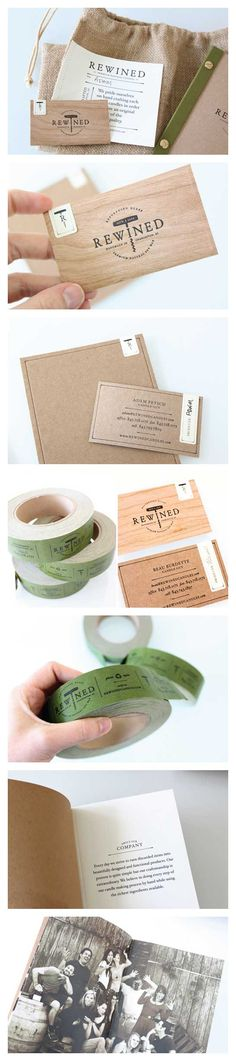 Stitch Design Co.: Rewined Candles Stationery Package