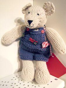 Image of Jim Bob Bear Knitting Pattern