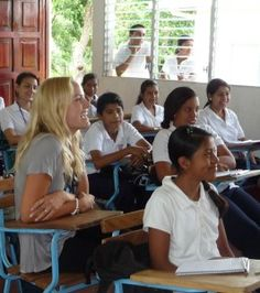 The following post was written by actress Malin Akerman about her visit to Opportunity's Emprendedora School in #Nicaragua. #Malin #HalftheSky #education
