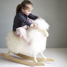 Rock Ewe Rocking Sheep