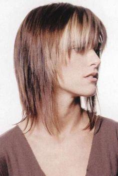 polodlouhé vlasy střihy - Hledat Googlem