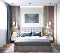 ДИЗАЙН СТУДИЯ А Бs photos – photos Luxury Bedroom Design, Bedroom Bed Design, Modern Master Bedroom, Trendy Bedroom, Contemporary Bedroom, Home Decor Bedroom, Decor Room, Master Bedrooms, Room Interior