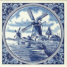 China Painting, Tole Painting, Artist Painting, Victorian Crafts, Toile Wallpaper, Delft Tiles, Blue Pottery, Decoupage Paper, Tile Art