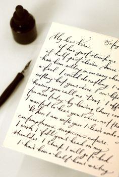 Servicio de caligrafía.
