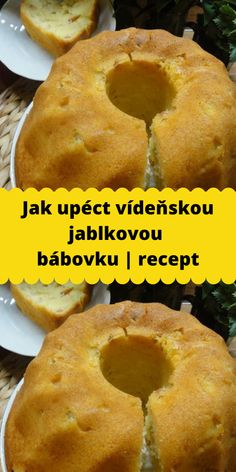 Jak upéct vídeňskou jablkovou bábovku | recept Bagel, Food Videos, Valspar, Recipies, Food And Drink, Ice Cream, Sweets, Bread, Baking
