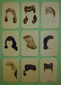 I'll be spending my next 12 hairstyles recreating these beautiful vintage styles beginning with the hair bow.