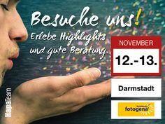 Am 12. bis 13. Novmeber findet die 9. fotogen Multimediale Messe in Darmstadt statt. Auch wir sind wieder, mit vielen Photokina Neuheiten dabei. Wir freuen uns auf Eure zahlreichen Besuche an unserem Hapa Team Stand.  www.hapateam  #messe #hapateam #darmstadt