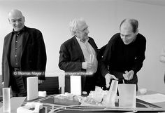nouvel, gehry and koolhaas