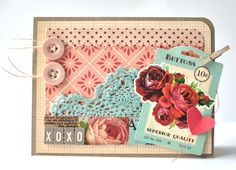 October Afternoon: Tuesday Tutorial :: SprINKlers = Custom-Colored Embellishments