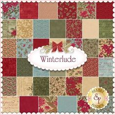 winterlude fabric | Winterlude Charm Pack By 3 Sisters For Moda Fabrics