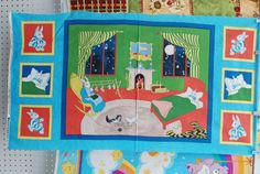 Goodnight Moon Panel Fabric By The Panel by Loriscountryfabrics, $8.95