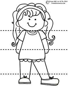 Cabeça ombros joelhos e PES - Menina