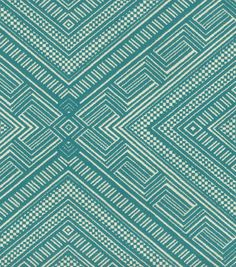 Upholstery Fabric- Waverly Cliff Dwelling turquoiseUpholstery Fabric- Waverly Cliff Dwelling turquoise $16/yd