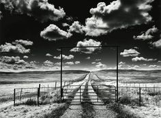 Roman Loranc The Private road with Clouds 1993