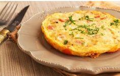 Omelette recipe in a pan