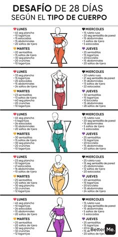 Fitness Workouts, Gym Workout Tips, Fitness Workout For Women, At Home Workout Plan, Easy Workouts, Body Fitness, Workout Videos, Workout Hair, Mini Workouts