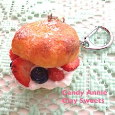Fresh fruits puffy pastry-free shipping on Etsy, ¥1,159.42