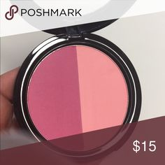 Blush So beautiful up close & in person! Gorgeous!  New in box Authentic Shade ~ Bonnie & Clyde Full Size Retail $25.00 Bundle & Save No holds no trades Thank you! :) ♡  Shade+Light Two Tone Blush defines your cheeks through the art of color. Kat Von D's new two-in-one blush features a duo of complementary matte tones. Kat Von D Makeup Blush