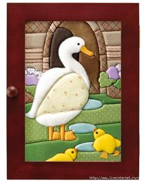 La Teja de Ani: SERVILLETERO CON PATCHWORK SIN AGUJA - Поиск в Google Bird Applique, Applique Patterns, Applique Designs, Quilting Designs, Quilt Patterns, Fabric Art, Fabric Crafts, Sewing Crafts, Hobbies And Crafts