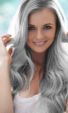 Die 729 Besten Bilder Von Frisuren Gray Hair Silver Hair Und Long