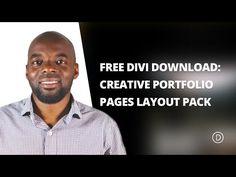 Free Divi Download: Creative Single Page Portfolio Layout Pack | Elegant Themes Blog