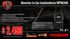 La Púa San Miguel: Monitor In Ear Inalámbrico TAKSTAR WPM200
