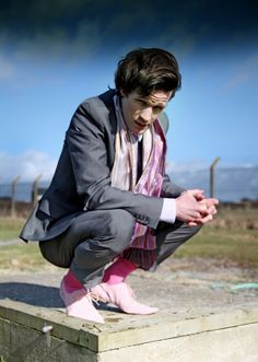 pink socks pink shoes unf matt smith i love you
