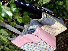 pour réaliser ce sac il vous faut: ✄2 coupons de tissus assortis (50x100 cm) ✄1m20 de sangle ✄2m de passepoil ✄2 pressions KAM ...