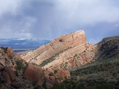 View from Lower Monument Canyon Trail, Colorado National Monument.