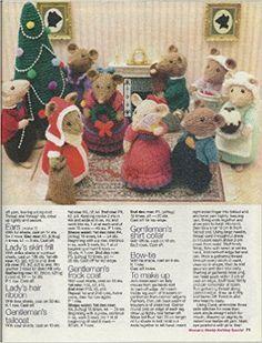 Christmas scene Page 2 Animal Knitting Patterns, Christmas Knitting Patterns, Amigurumi Patterns, Doll Patterns, Simply Knitting, Knitting For Charity, Knitted Dolls, Crochet Toys, Yarn Dolls
