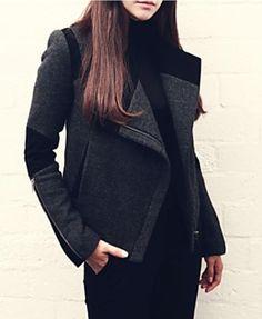 Slim Woolen Coat