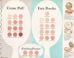 Max Factor - Livrets - Maquillage, Nouvelles Couleurs à la Mode - 1962