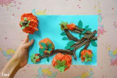 오랫만에 미술수업 포스팅 입니다! 오늘은 저번 추석때 만들었던 카드수업이에요. 한지를 꾸겨서 나무나 허수아비를 만들었습니다. 도화지를 반으로 접어서 카드로도 선물할수 있게 했어요. 쉽게쉽게 따라할수 있.. Chinese New Year Crafts, New Year's Crafts, Kids And Parenting, Art For Kids, Activities For Kids, Crafty, Painting, Art For Toddlers, Art Kids
