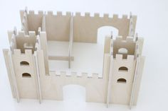 the NEW plywood castle