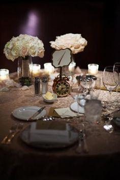 Washington DC Wedding Gold and Ivory 1 275x413 Black Tie New Years Eve Wedding Reception in Washington DC: Sarah + Ilana