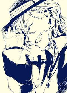 Image about anime in Bungo Stray Dogs by Yukino Miyazawa Bungou Stray Dogs Chuya, Stray Dogs Anime, Chica Anime Manga, Anime Guys, Anime Art, Neko, Tsubaki Chou Lonely Planet, Funny Chat, Chibi