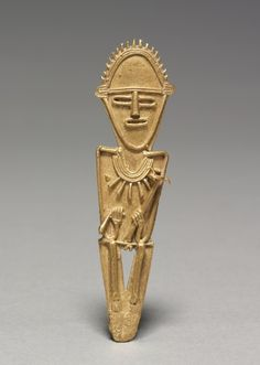 Tunjos (Votive Offering Figurine), c. 900-1550 Colombia, Muisca style, 10th-16th century