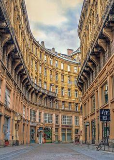 Anker street, Budapest / Hungary (by Gábor István Nagy).
