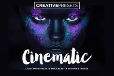 The Cinematic set contains high quality Lightroom presets based on film looks from some of the world's most popular movies • Available here → https://creativemarket.com/creativepresets.com/332428-20-Cinematic-Lightroom-Presets?u=pxcr