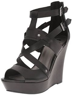 G by GUESS Women's Doriann Wedge Sandal, Available In Four Colours. http://www.amazon.com/gp/product/B018URX3O4/ref=as_li_tl?ie=UTF8&camp=1789&creative=9325&creativeASIN=B018URX3O4&linkCode=as2&tag=pinwedges7-20&linkId=2HXEZ3ZSJCZVIQSR