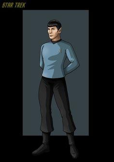 commander spock. by nightwing1975.deviantart.com on @deviantART