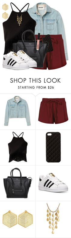 """Scarlet Witch Inspired Outfit"" by lauloxx ❤ liked on Polyvore featuring Boohoo, Missguided, The Case Factory, CÉLINE, adidas, Kasturjewels, John Hardy, NARS Cosmetics, Summer and Spring"