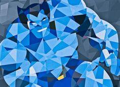 Marvel Geometric Superheroes by Eric Dufresne 9