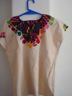 Blusas bordadas a mano - Imagui