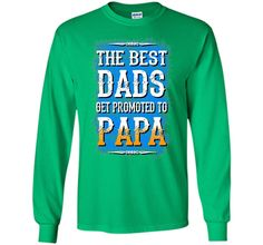Men's Gifts for papa from granddaughter Best dads t shirt APA
