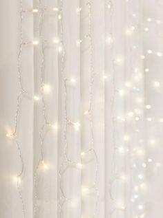 Merkury Innovations Curtain Lights Cascading Led Lighting Warm White 3 X 5 Aesthetic Rooms, White Aesthetic, Led Curtain Lights, Curtains With Lights, Fairy Light Curtain, Lit Wallpaper, Lumiere Led, White Led Lights, White Curtains
