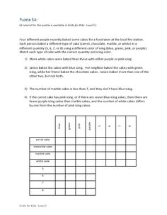Teach children logic using this fun logic curriculum designed specifically to teach logic to kids.  The last level is challenging (even for adults)!!