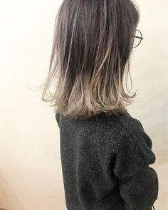 Easy Hairstyles For Long Hair, Light Hair, Hair Highlights, Dyed Hair, Short Hair Styles, Hair Cuts, Hair Beauty, Yumiko, Hair Colors