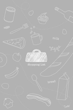 Iphone Wallpaper For Shopping Bag Groceries
