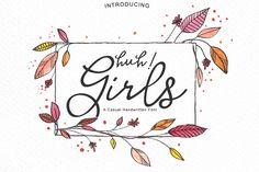 Huh! Girls by Paula A. on @creativemarket